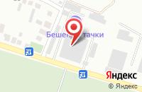 Схема проезда до компании Контроль-Авто в Кисловодске