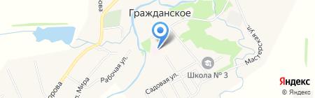 Участковая больница на карте Гражданского