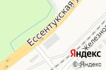 Схема проезда до компании Кровельный центр в Подкумке