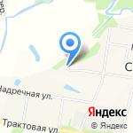 Ручеёк на карте Пятигорска (КМВ)