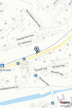 АВТОСЕРВИСНОЕ ПРЕДПРИЯТИЕ ЮГТУР-ТРАНС на карте Ессентуков