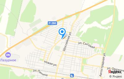 Местоположение на карте пункта техосмотра по адресу Волгоградская обл, г Суровикино, пер Овражный, д 17