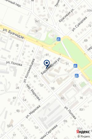 АЗС ТРИАНДР на карте Ессентуков