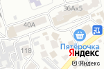 Схема проезда до компании ГироДОТ в Ессентуках