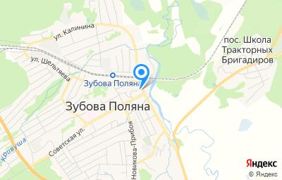 Местоположение на карте пункта техосмотра по адресу Респ Мордовия, рп Зубова Поляна, ул Пролетарская, д 6