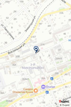 АГЕНТСТВО ПРАВОВОЙ ИНФОРМАЦИИ на карте Ессентуков