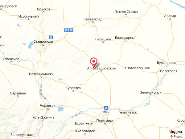 поселок Дубовая Роща на карте