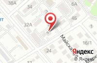 Схема проезда до компании Кавказ Интернэшнл Лтд в Ессентуках