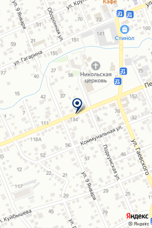 АПТЕКА ФЛОРА на карте Ессентуков
