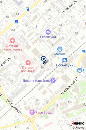 АПТЕКА ЛЦС на карте Ессентуков