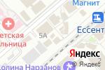 Схема проезда до компании Еnter в Ессентуках