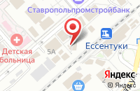 Схема проезда до компании Ессентуки Против Наркотиков в Ессентуках