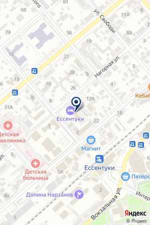 АГЕНТСТВО НЕДВИЖИМОСТИ ИННА И К на карте Ессентуков