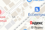 Схема проезда до компании Гиро-Гороскоп в Ессентуках