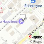Магазин салютов Ессентуки- расположение пункта самовывоза