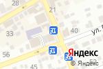 Схема проезда до компании di rouz в Ессентуках