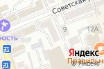 Схема проезда до компании Терос в Ессентуках