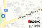 Схема проезда до компании Чепко и Ч в Ессентуках