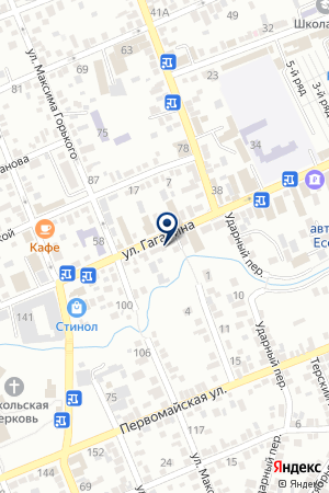 АПТЕКА ЕЛЕНА на карте Ессентуков