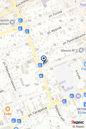 АВТОСЕРВИСНОЕ ПРЕДПРИЯТИЕ МИХАЙЛОВ И.Б. на карте Ессентуков