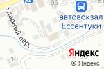 Схема проезда до компании У реки в Ессентуках