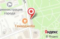 Схема проезда до компании matrЁshka в Ессентуках