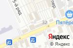 Схема проезда до компании Шокоделика в Ессентуках