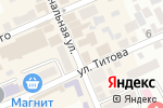 Схема проезда до компании Da Mario в Ессентуках