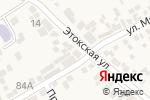 Схема проезда до компании Магазин №24 в Ессентукской