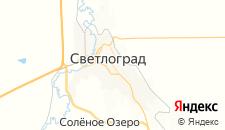 Отели города Светлоград на карте