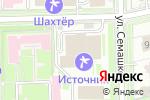 Схема проезда до компании ПРИМАДЕНТ в Ессентуках