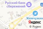 Схема проезда до компании Магазин продуктов в Ессентукской