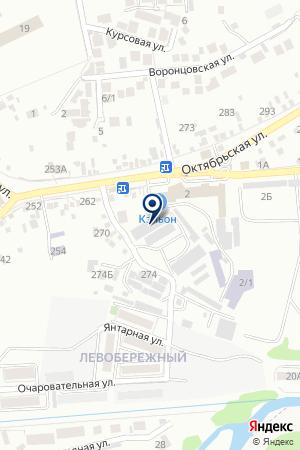 АВТОСЕРВИСНОЕ ПРЕДПРИЯТИЕ ЭЛИКСИР на карте Ессентуков