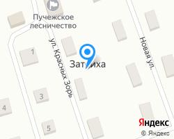 Схема местоположения почтового отделения 155370