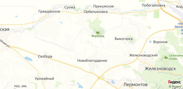Калаборка на карте