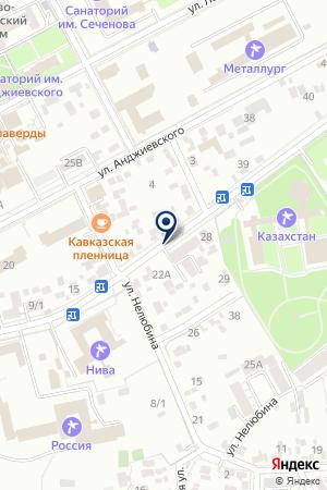 ГСК НАДЕЖДА на карте Пятигорска