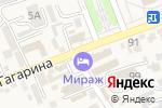 Схема проезда до компании Адвокатский кабинет Гаджаровой Т.Р. в Ессентукской