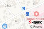 Схема проезда до компании Домашние курочки с Дубровки в Ессентукской