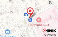Схема проезда до компании Карат в Ессентукской
