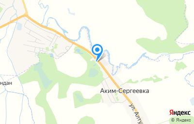 Местоположение на карте пункта техосмотра по адресу Респ Мордовия, Зубово-Полянский р-н, п Аким-Сергеевка, ул Алтухова, д 94А