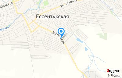 Местоположение на карте пункта техосмотра по адресу Ставропольский край, ст-ца Ессентукская, ул Этокская, д 146