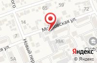 Схема проезда до компании Предгорныйрайгаз в Ессентукской