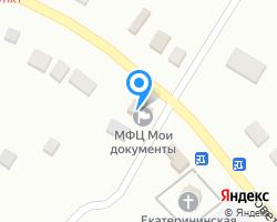 Схема местоположения почтового отделения 356518