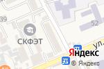 Схема проезда до компании Магазин канцтоваров в Ессентукской