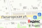 Схема проезда до компании ЭТМ в Ессентуках