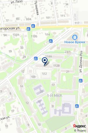МАГАЗИН МЕБЕЛЬ на карте Пятигорска