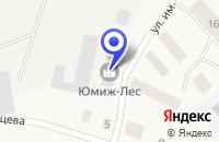 Схема проезда до компании ВАЖСКИЙ ЛЕСОПРОИЗВОДСТВЕННЫЙ КОМБИНАТ в Шенкурске