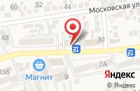 Схема проезда до компании Карапуз в Ессентукской