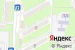 Схема проезда до компании Белорусская косметика в Ессентуках