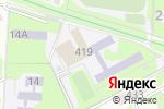 Схема проезда до компании ДЮСШ в Ессентуках